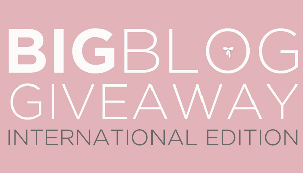 Blog Giveaway International Edition