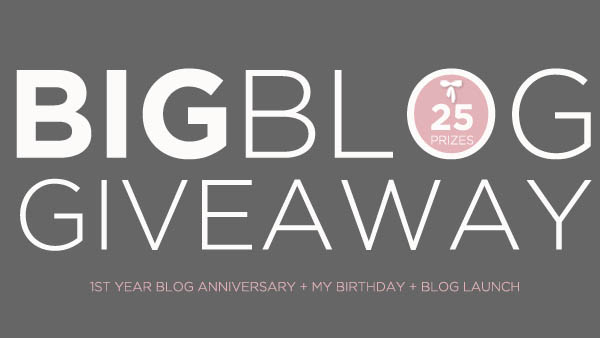 Big Blog Giveaway