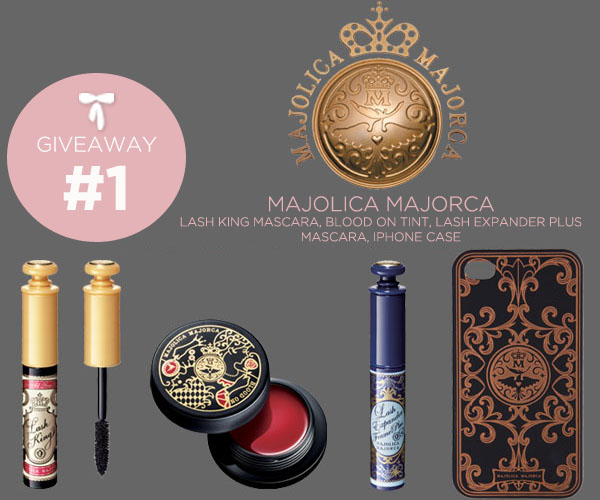 Majolica Majorca Giveaway #1