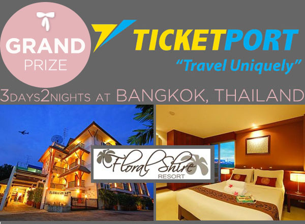 Ticketport Grand Prize Floral Shire Resort
