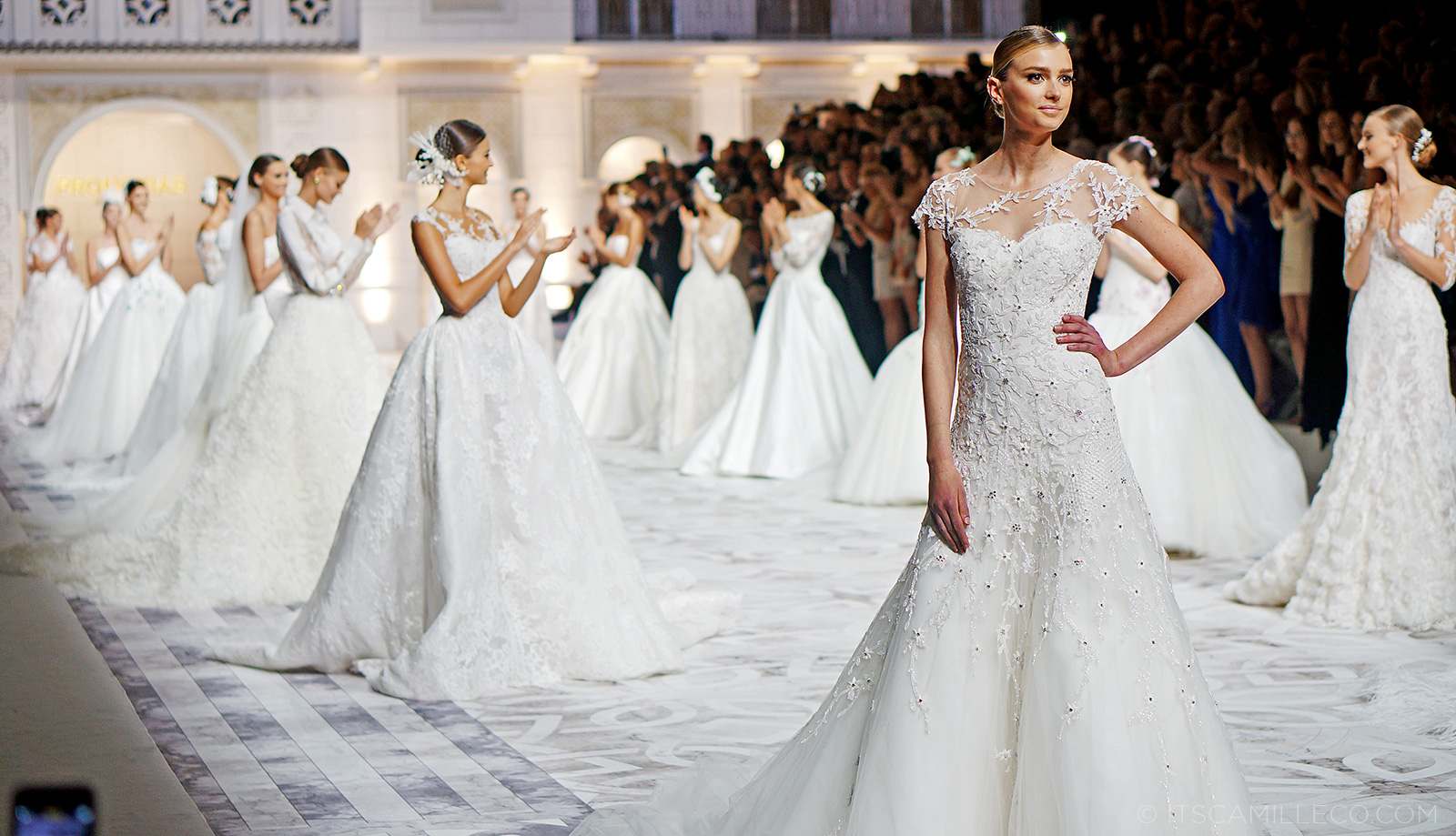 Pronovias 50 Fashion Show 2015 | Camille Tries To Blog