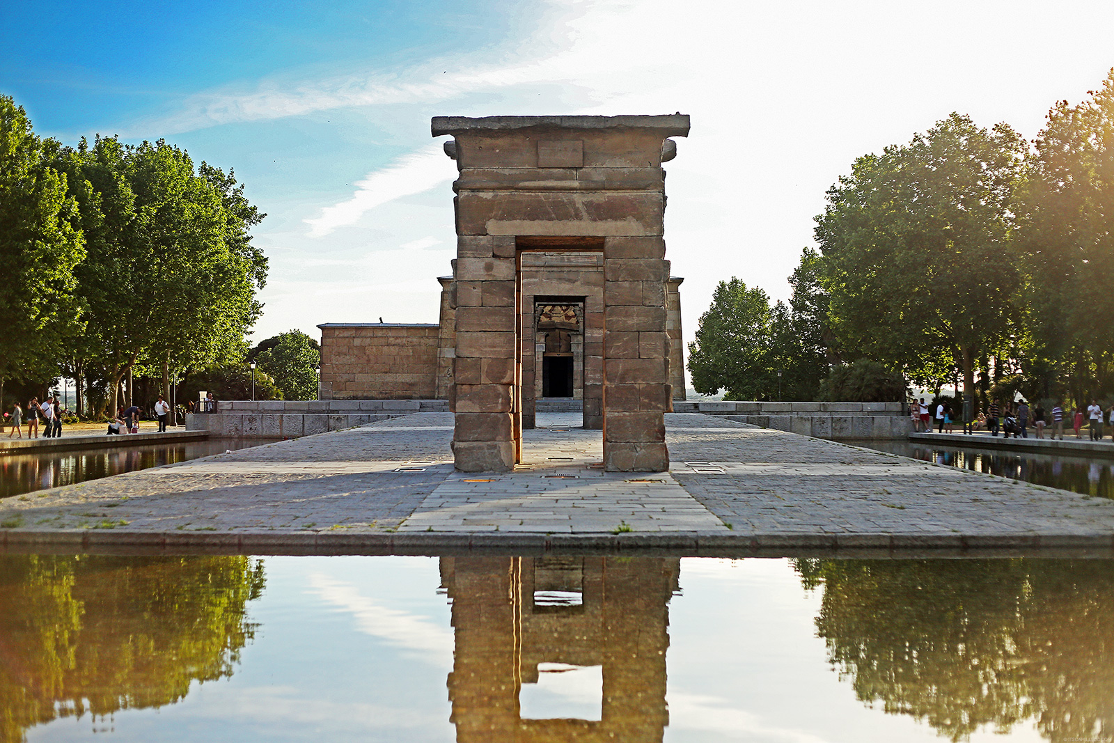 Temple of Debod on Camille Tries To Blog
