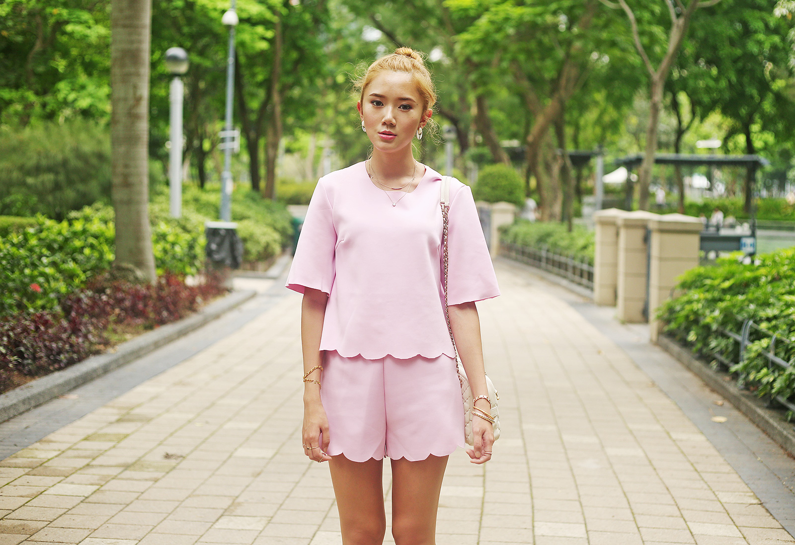Front Row Top and Shorts Set | Camille Tries To Blog