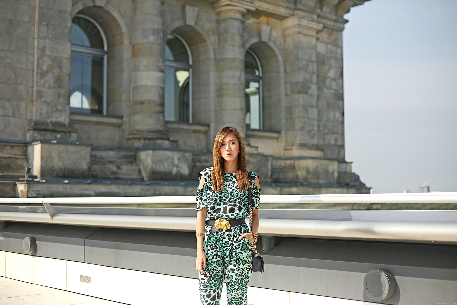 Reichstag Building Featuring Liquorish Jumpsuit