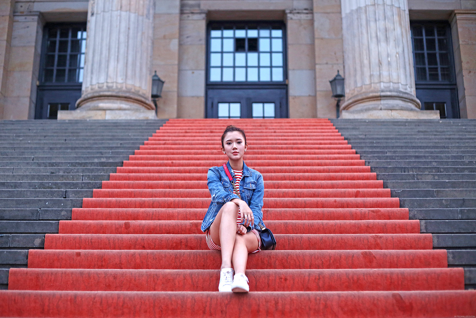 Gendarmenmarkt Style Post Featuring Emoda, Abercrombie, YSL And Chanel | itscamilleco.com