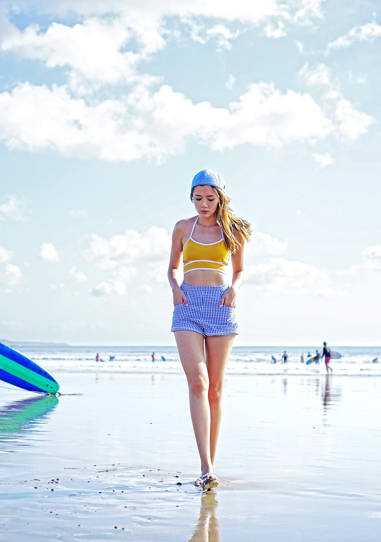 Cesa Bikini, Topshop, H&M At Kuta Beach, Bali | www.itscamilleco.com