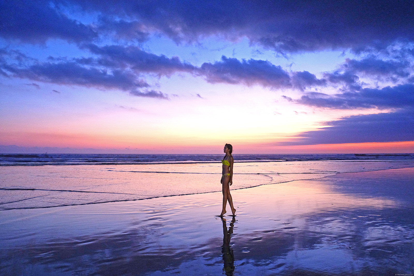 Seminyak Beach Sunset | www.itscamilleco.com