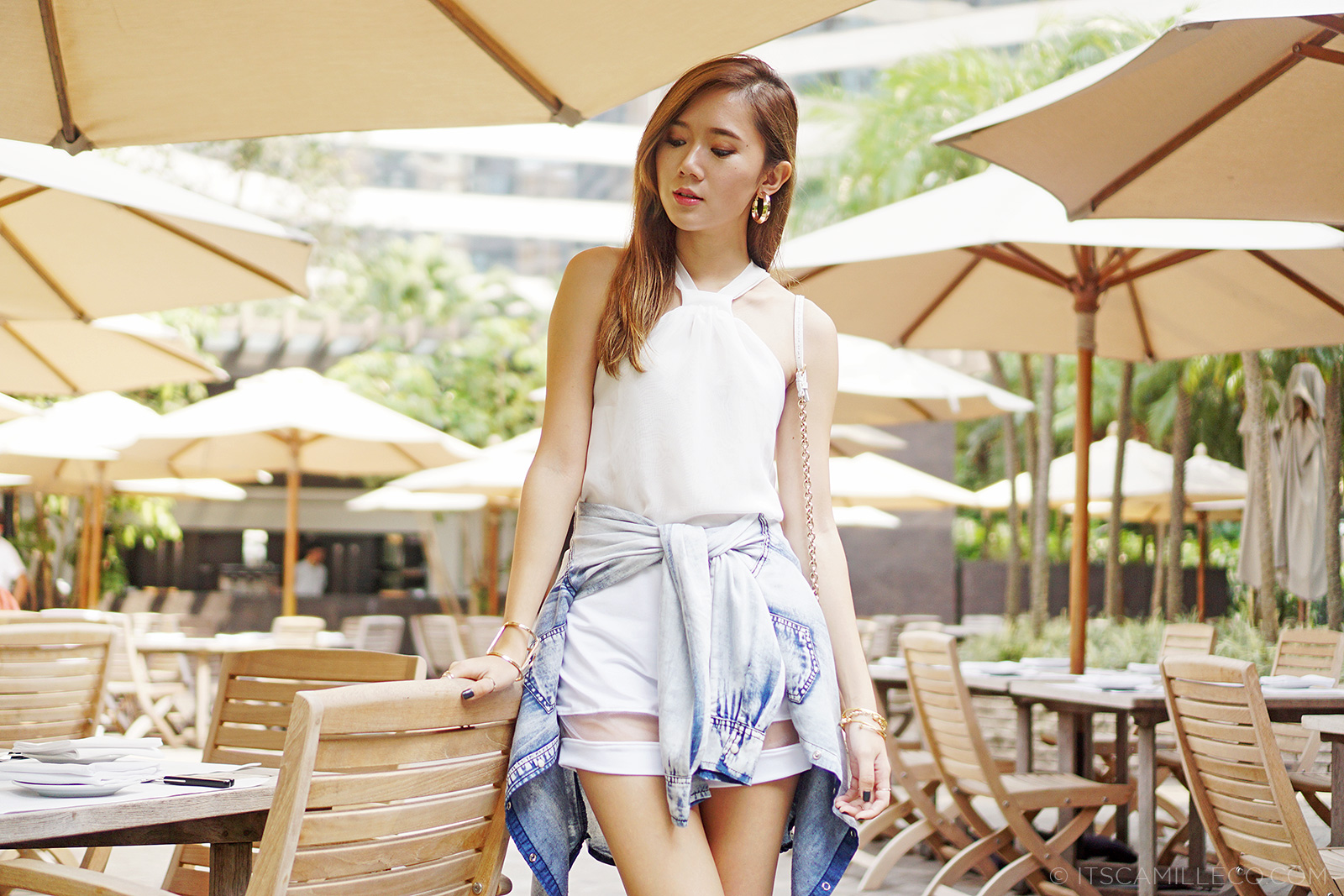 White Co-ords With Denim, Valentino, Fendi | www.itscamilleco.com