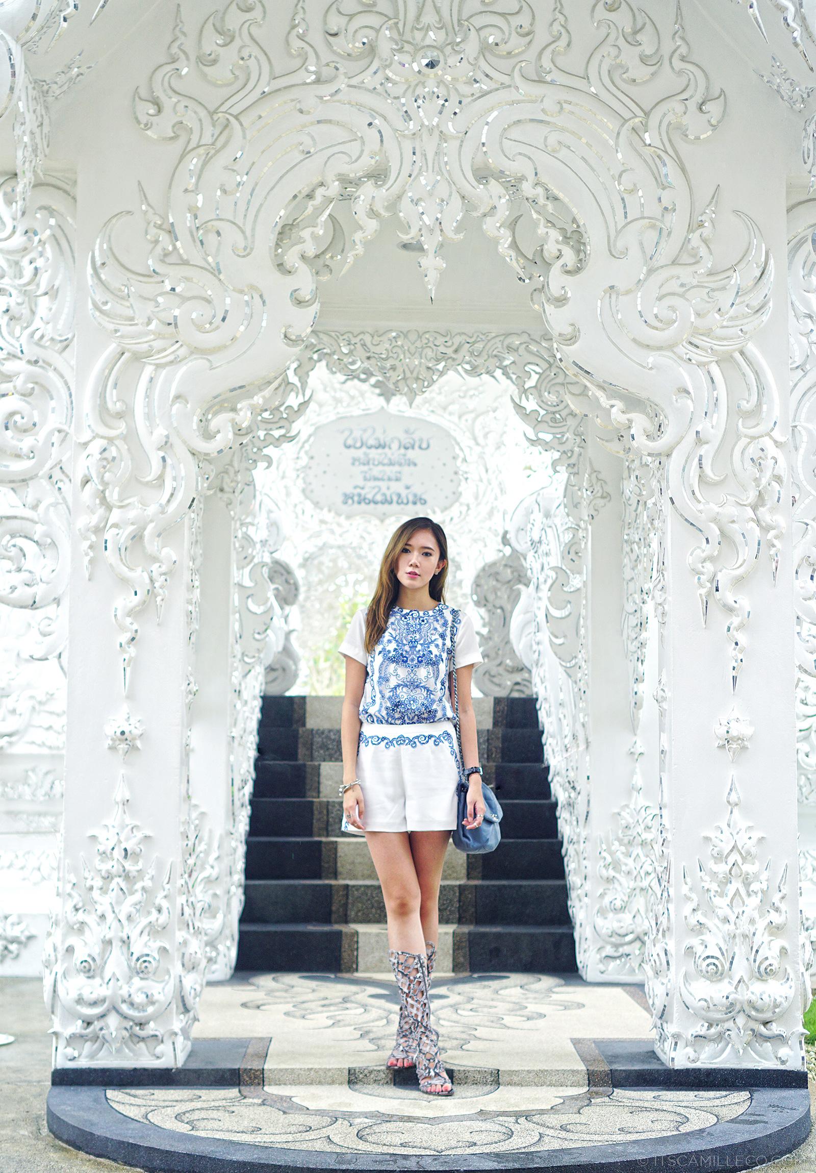Wat Rong Khun, White Temple, Chiang Rai | www.itscamilleco.com