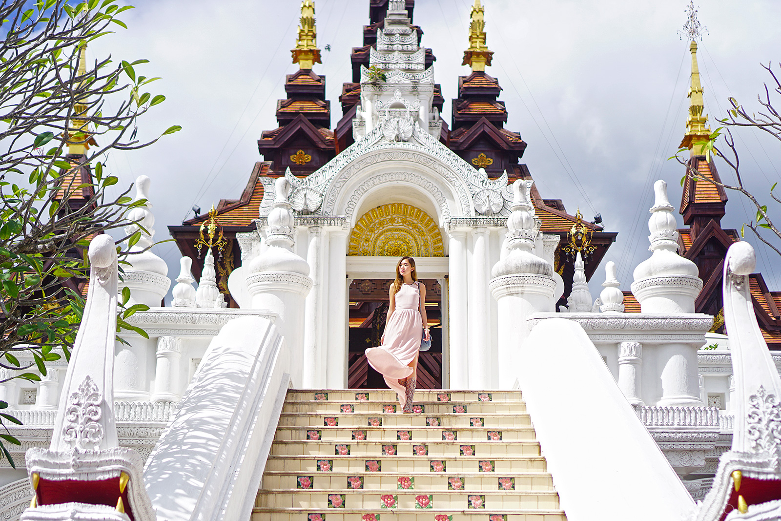 Dhara Dhevi, Chiang Mai, H&M maxi dress | www.itscamilleco.com