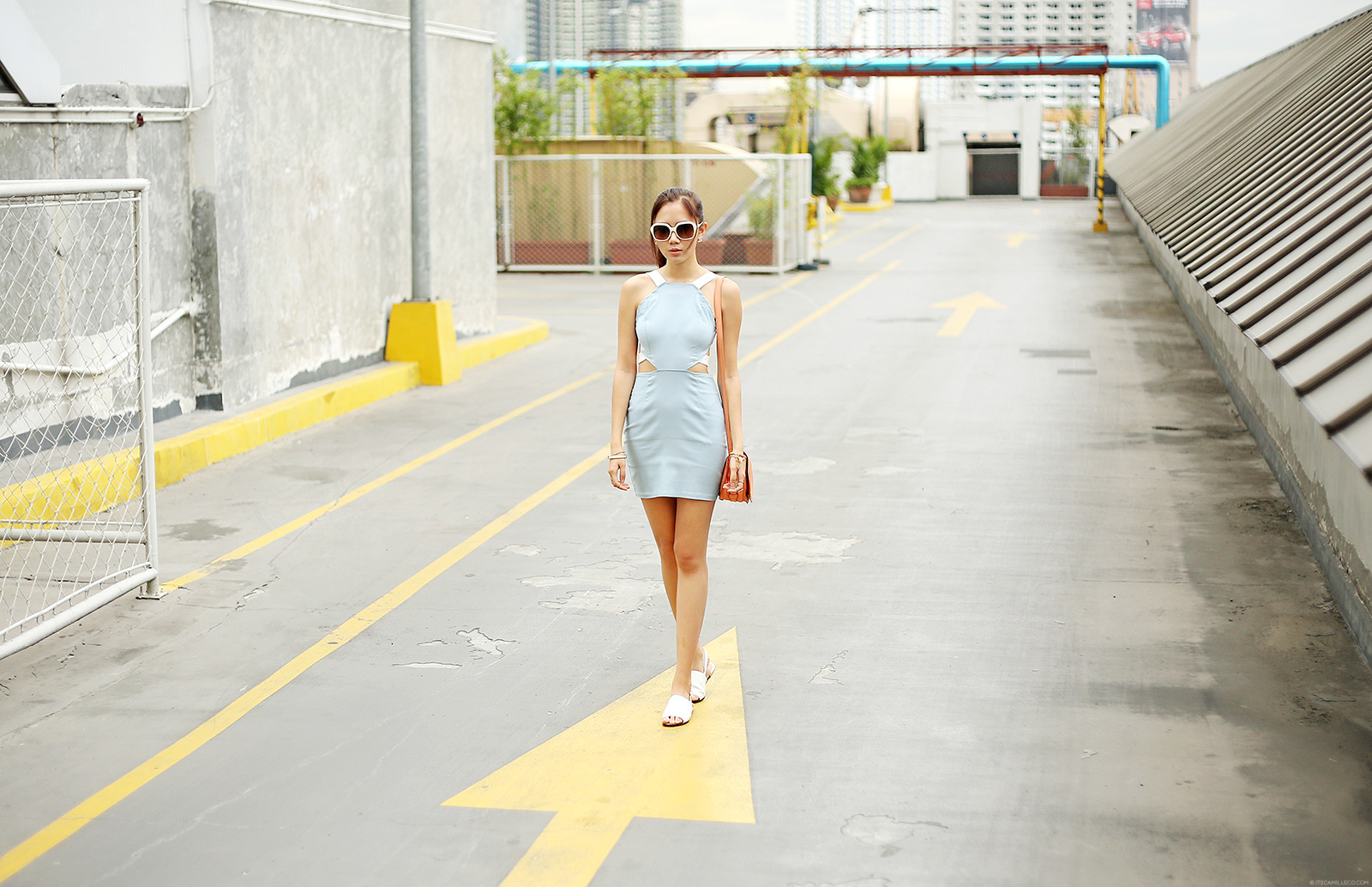 Tobi Jennia Dress, Miu Miu Sunnies, Chloe bag | www.itscamilleco.com
