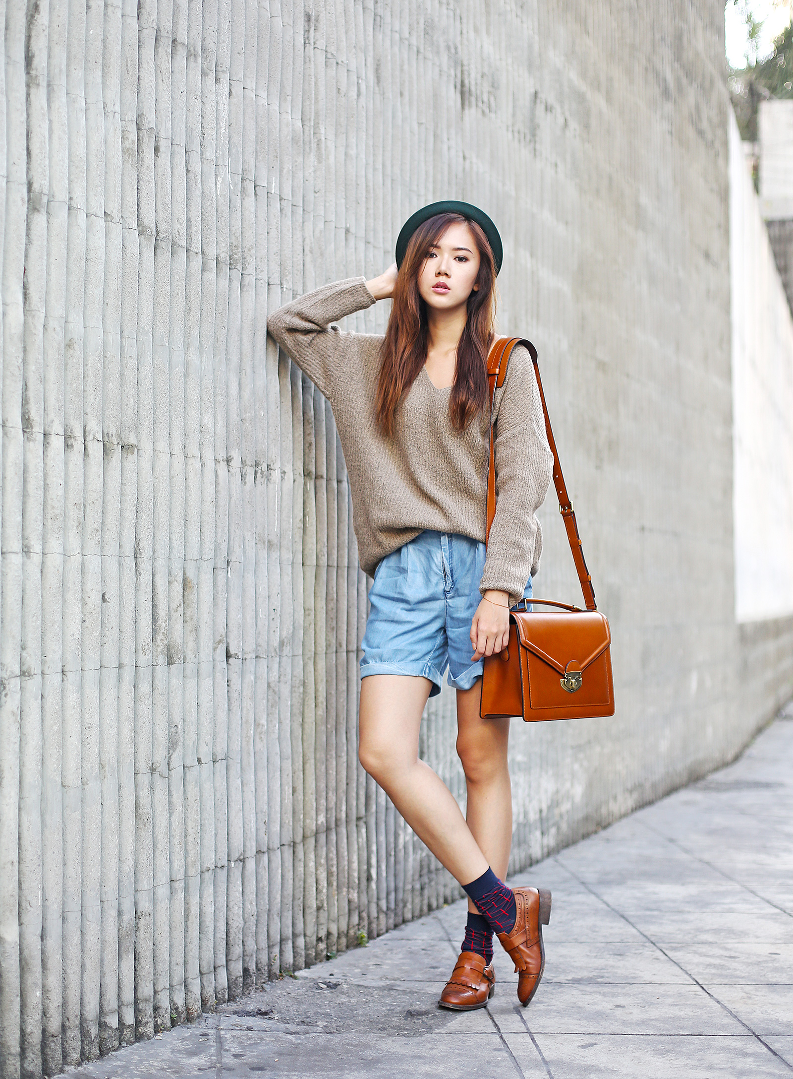 Androgynous Look Featuring Fablo, Mango, Happy Socks, Johansen Camera Bag | www.itscamillecom.com
