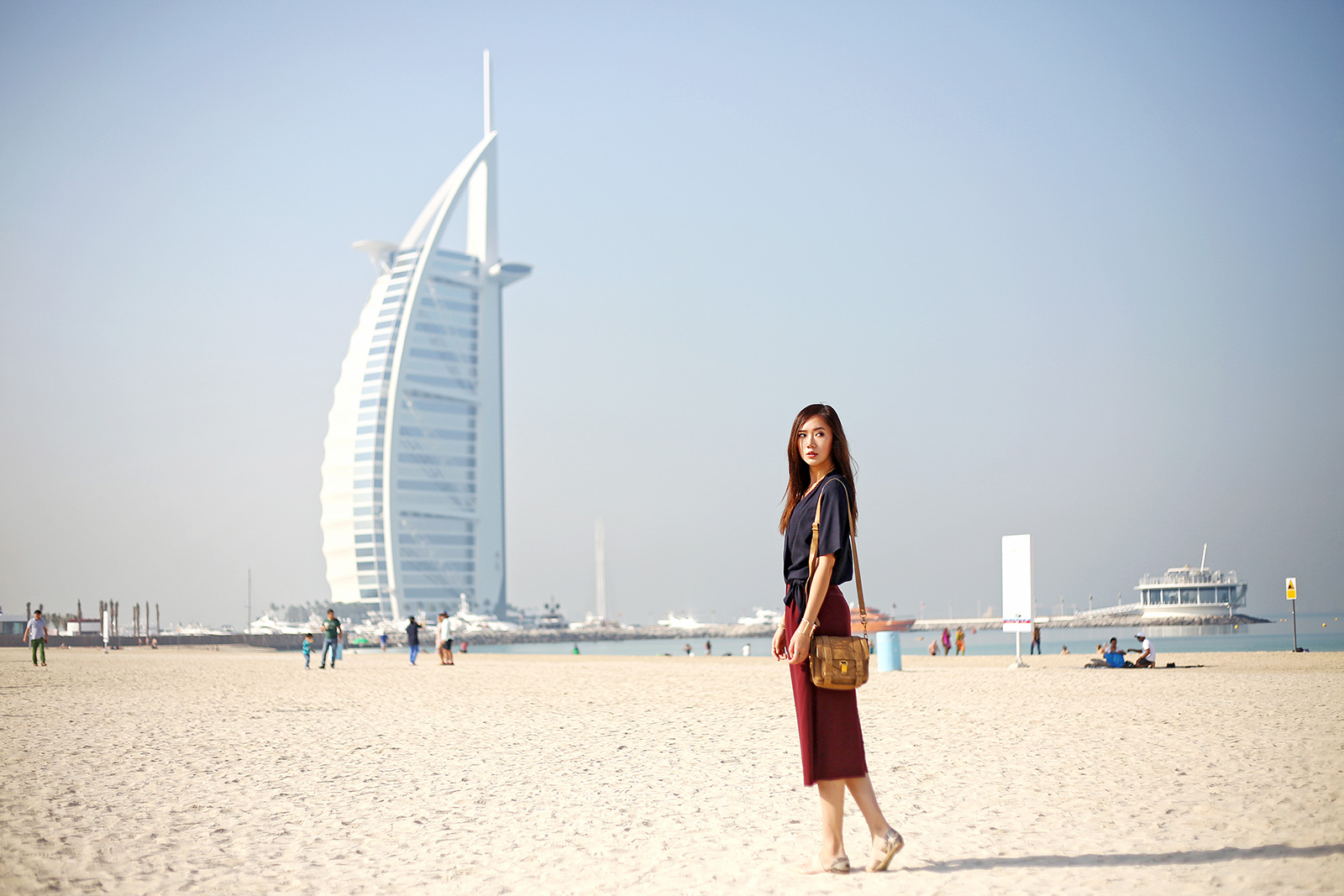 Dubai City Tour, Burj Al Arab, Jumeirah Beach | www.itscamilleco.com