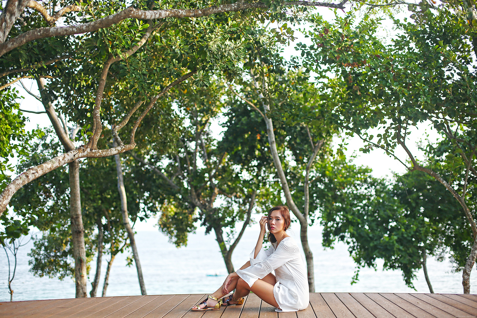 She Inside tunic, Rupert Sanderson sandals at Amorita Bohol | www.itscamilleco.com