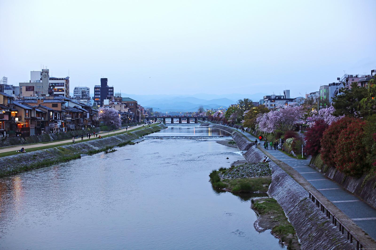 Kyoto Travel Diary: Shirakawa River, Gion, - www.itscamilleco.com