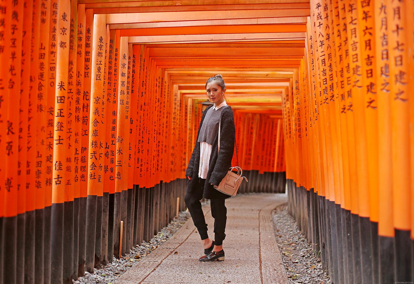 Fushimi Inari Torii Gates | www.itscamilleco.com