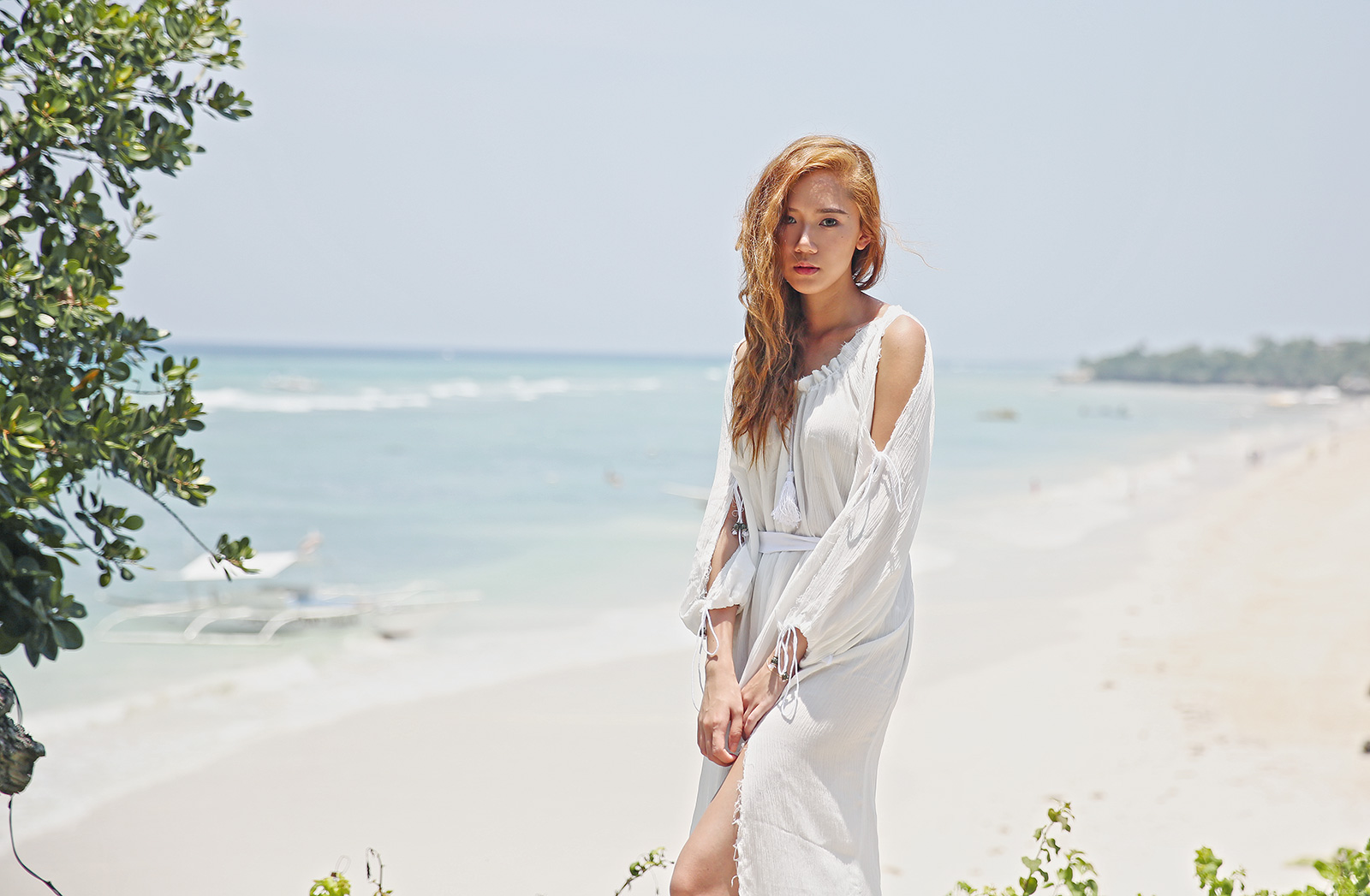 SheIn Beach Dress at Amorita, Boholl | www.itscamilleco.com