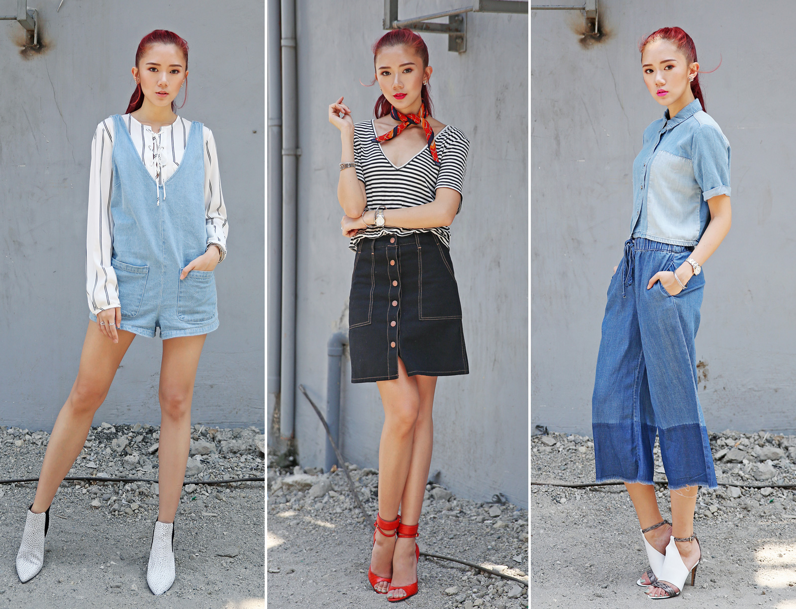 How To Wear Denim (F21) - www.itscamilleco.com
