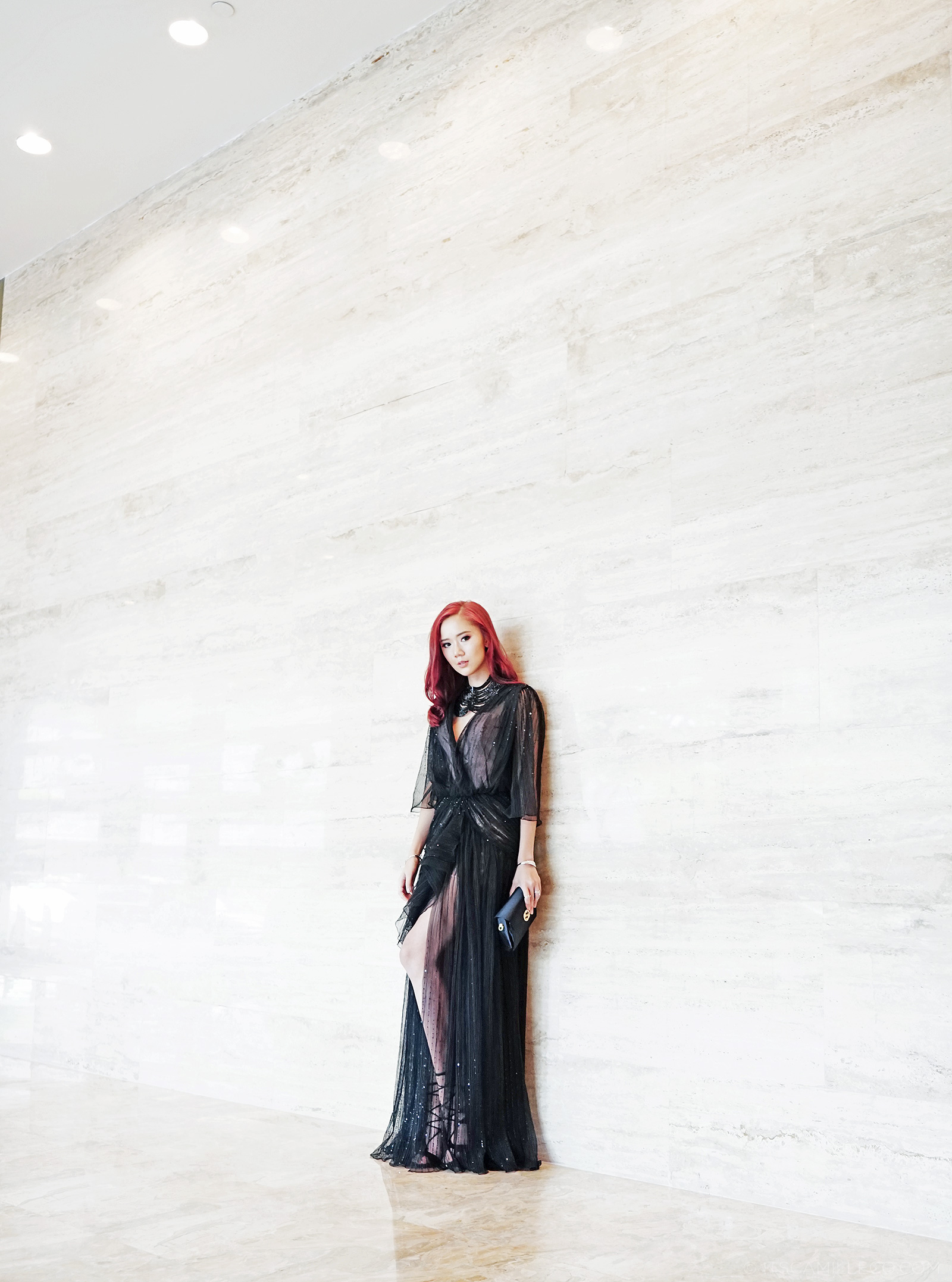 Sheer Black Gown By Camille Co  - www.itscamilleco.com