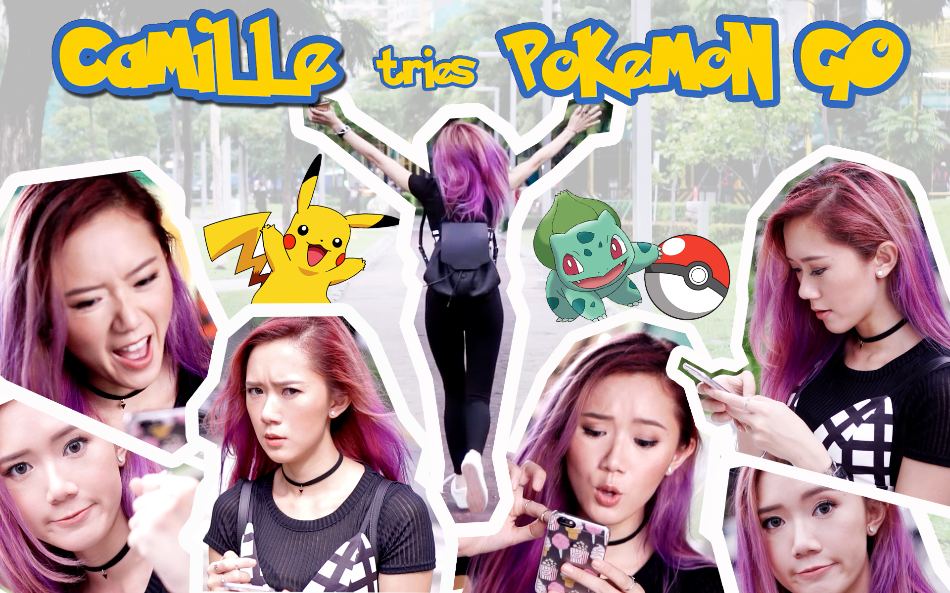 Pokemon Go First Time - www.itscamilleco.com