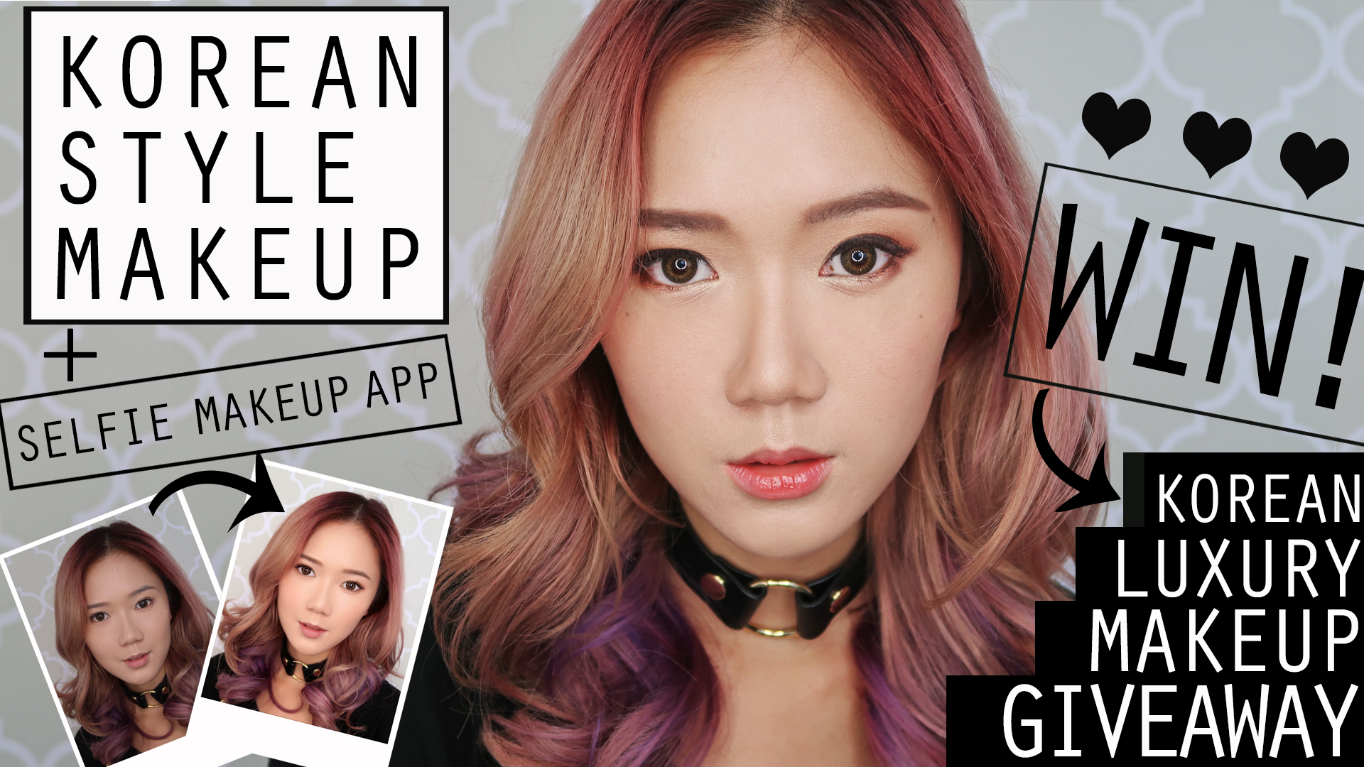 VLOG: Korean Style Makeup Tutorial + K-Beauty Makeup Giveaway From Seoul