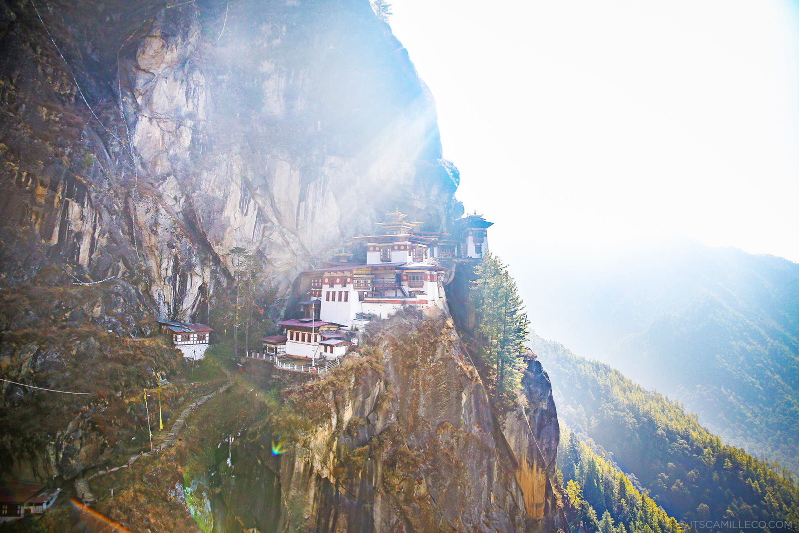 Tiger's Nest, Bhutan - Camille Co www.itscamilleco.com