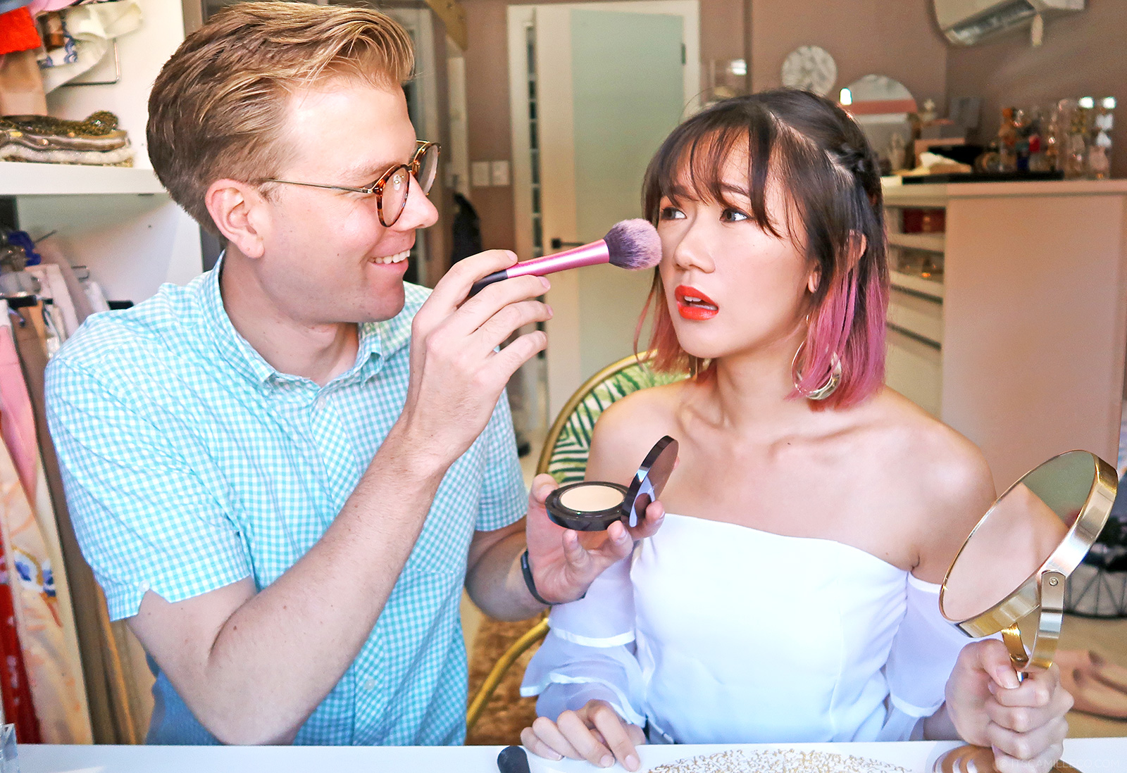 Camille Co - Boyfriend Does My Makeup