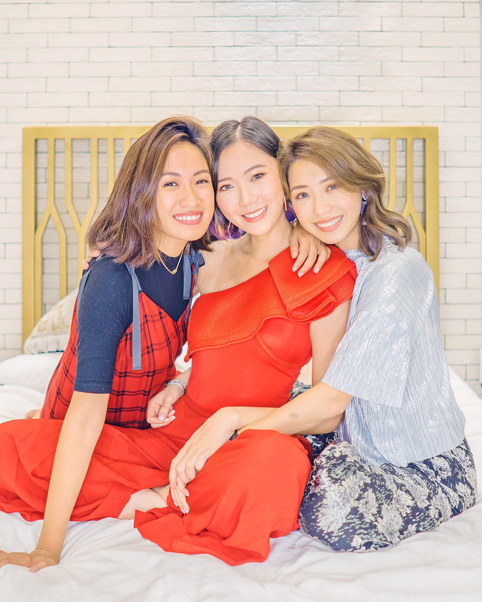 The Trio Laureen Uy, Camille Co, Kryz Uy